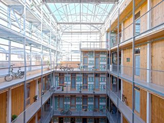 Visites a les cooperatives d'habitatge La Titaranya de Valls i La Borda de Barcelona
